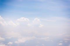Cielo blu con la nuvola per il backgroud della natura Immagini Stock Libere da Diritti