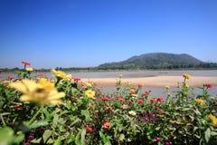 Cielo blu del paesaggio della Tailandia Immagine Stock Libera da Diritti