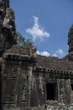Cielo blu del tempio di Angkor Wat Fotografia Stock Libera da Diritti
