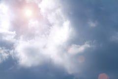 Cielo blu della foto Fotografie Stock Libere da Diritti