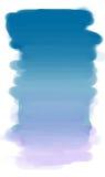 Cielo blu della pittura. Immagine Stock