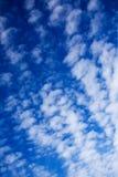 cielo blu della priorità bassa Fotografia Stock