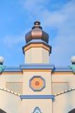 Cielo blu di anucement del castello, Corea Fotografia Stock Libera da Diritti