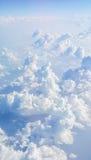 Cielo blu di Cloudscape e nuvola bianca Immagini Stock