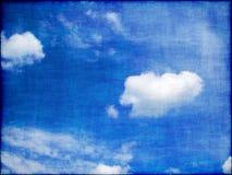 Cielo blu di Grunge Immagini Stock Libere da Diritti