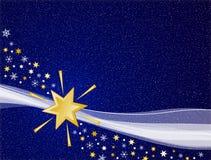 Cielo blu A di inverno Fotografia Stock