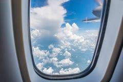 Cielo blu e belle nuvole Immagini Stock Libere da Diritti