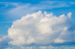 Cielo blu e nube Immagine Stock Libera da Diritti