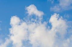 Cielo blu e nube Immagini Stock