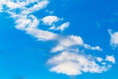 Cielo blu e nube Fotografia Stock Libera da Diritti