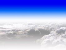 Cielo blu e nubi Fotografie Stock Libere da Diritti