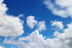 Cielo blu e nubi Immagine Stock Libera da Diritti
