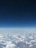 Cielo blu e nubi bianche Fotografie Stock