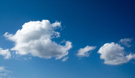 Cielo blu e nuvole Immagine Stock Libera da Diritti