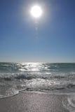 Cielo blu ed oceano Immagini Stock