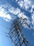 Cielo blu elettrico della torretta Fotografie Stock