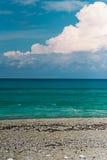 Cielo blu a Leucade fotografia stock libera da diritti
