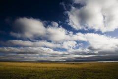 Cielo blu in nubi Fotografia Stock Libera da Diritti