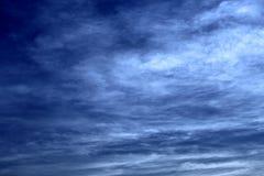 Cielo brillante de la mañana Fotos de archivo libres de regalías