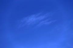 Cielo brillante de la mañana Foto de archivo libre de regalías