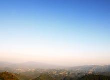 Cielo brillante en el top Fotografía de archivo libre de regalías
