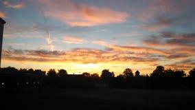 Cielo caldo Fotografie Stock Libere da Diritti