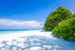 Cielo claro del claro del mar Foto de archivo libre de regalías