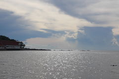 Cielo claro en Koh Samui, Tailandia Imagen de archivo libre de regalías