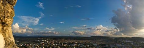 Cielo colorido y salida del sol Paisaje al aire libre natural imágenes de archivo libres de regalías
