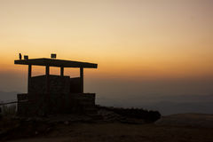 Cielo como puesta del sol Fotos de archivo libres de regalías