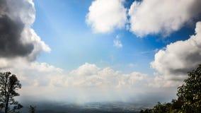 Cielo con la nube Fotos de archivo libres de regalías