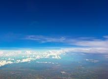 Cielo con la nube Foto de archivo