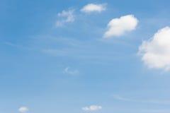 Cielo con la nube Fotografía de archivo libre de regalías