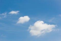Cielo con la nube Foto de archivo libre de regalías