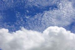 Cielo con la nube Fotografia Stock