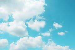 Cielo con las nubes Fotografía de archivo
