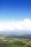 Cielo con las nubes imagen de archivo