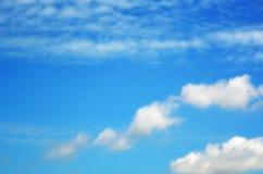Cielo con las nubes foto de archivo libre de regalías