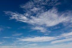 Cielo con las nubes Imagen de archivo libre de regalías