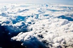 Cielo con las nubes Foto de archivo