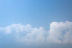 Cielo con las nubes Fotografía de archivo libre de regalías