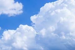 Cielo con las nubes Imágenes de archivo libres de regalías