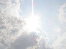 Cielo con le nubi immagini stock