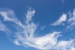 Cielo con le nubi Immagini Stock Libere da Diritti