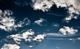 Cielo con le nubi 6 Immagini Stock Libere da Diritti