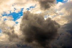 Cielo con le nubi Fotografia Stock Libera da Diritti