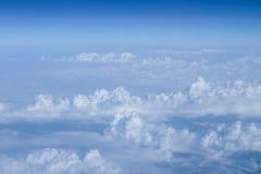 Cielo con los aviones Imagen de archivo libre de regalías