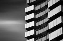 Cielo construido del modelo de los conceptos de la estructura Foto de archivo