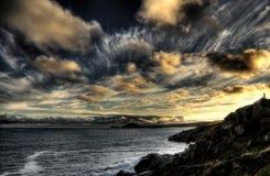 Cielo costero Fotos de archivo libres de regalías