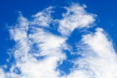 Cielo cotton-5 imagenes de archivo